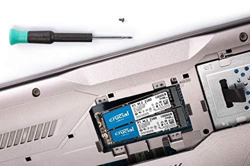 Crucial P1 1TB 3D NAND NVMe PCIe M.2 SSD - CT1000P1SSD8 7
