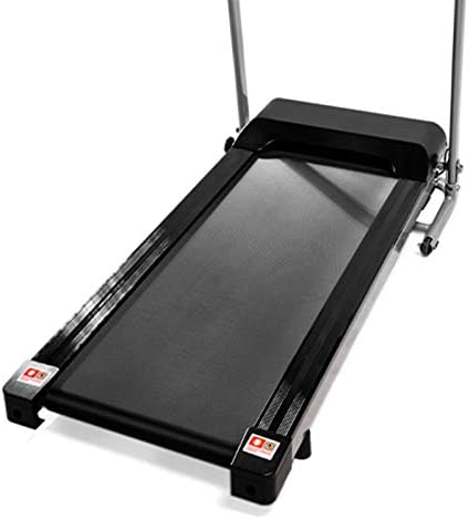 Teblacker Folding Treadmill - 2.25HP Electric Treadmill with LCD Display and Cup Holder - Suitable for Home Office Jogging, Black 4