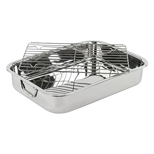 Stainless-Steel-Heavy-Duty-16-LasagnaRoasting-Pan-with-Rack