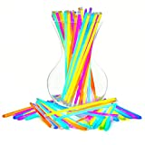 Glow Sticks Bulk Party Favors 100pk - 8' Glow in The Dark Party Supplies, Light Sticks for Neon Party Glow Necklaces and Bracelets for Kids or Adults
