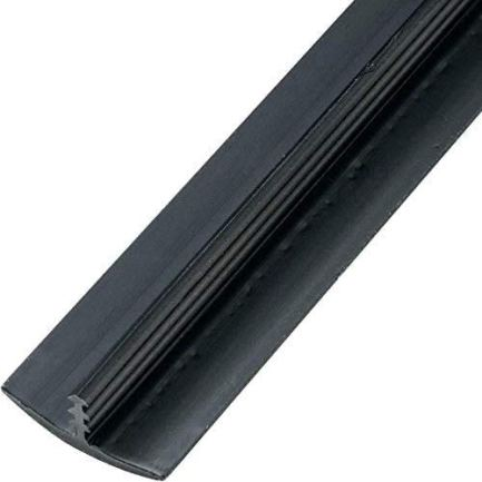 Edge-Supply-Black-34-in-x-12-Ft-Center-Barb-Tee-Moulding-T-Molding-Hobbyist-Pack-Small-Projects-Arcade-Machines-and-Tables-12-FT