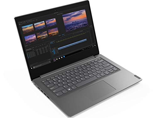 Lenovo V14 Intel Core i3 10th Gen 14-inch HD Thin and Light Laptop (4GB RAM/ 1TB HDD/ DOS/ Grey/ 1.6 kg), 82C4016RIH
