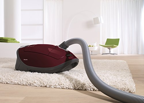Miele-Complete-C3-Vacuum-for-Soft-Carpet-Tayberry-Red