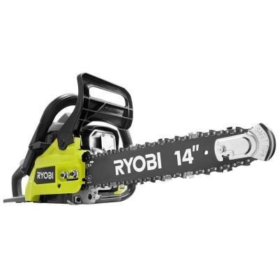 Ryobi 14 in. 37cc 2-Cycle Gas Chainsaw