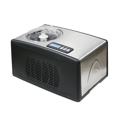 Whynter-ICM-15LS-Automatic-Ice-Cream-Maker-16-Quart-Capacity-Stainless-Steel-with-Built-in-Compressor-no-pre-Freezing-LCD-Digital-Display-Timer-One-Size-Multi