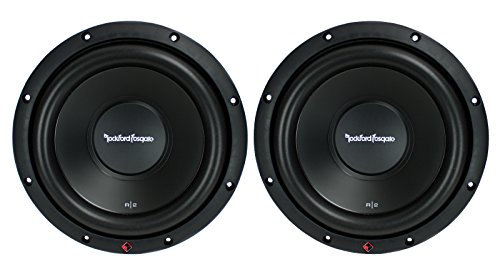 2) New ROCKFORD FOSGATE R2D2-10 1000W 10' 2-Ohm Car Audio Subwoofers Subs R2D210
