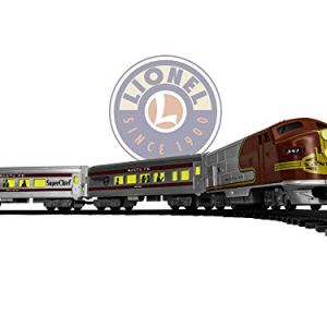 Lionel Santa Fe Diesel Battery-powered Model Train Set Ready to Play w/ Remote 41uNoUqrrBL