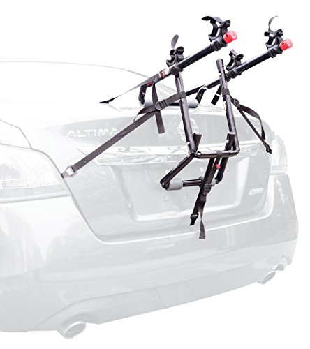 Deluxe 2-Bike Trunk Mount Rack