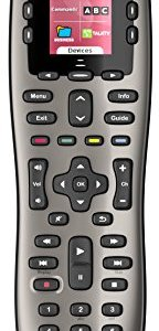Logitech Harmony 650 Infrared All in One Remote Control, Universal Remote Logitech, Programmable Remote (Silver) 2