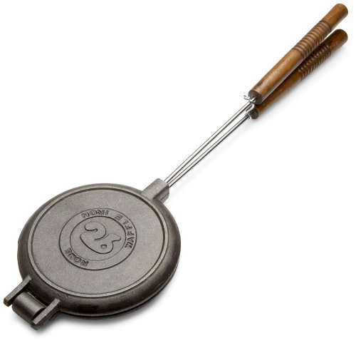 Rome's 1028 Chuckwagon Waffle Iron, Cast Iron
