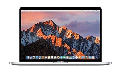 "Apple 15"" MacBook Pro, Retina, Touch Bar, 2.9GHz Intel Core i7 Quad Core, 16GB RAM, 512GB SSD, Silver, MPTV2LL/A"