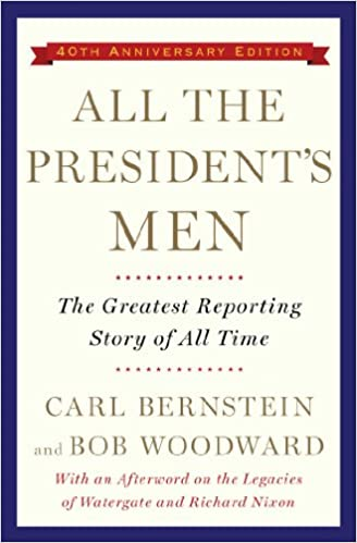 All Presidents Men Book Cover
