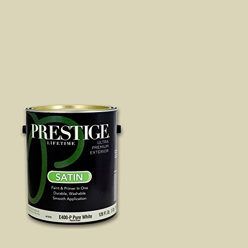Prestige, Greens and Aquas 9 of 9, Exterior Paint and Primer In One, 1-Gallon, Satin, Pale Avocado