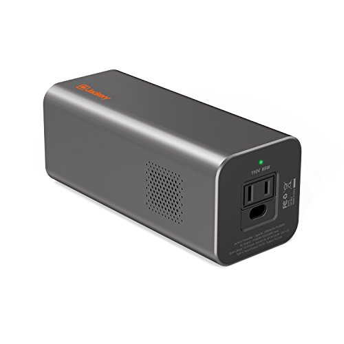 AC Outlet Portable Laptop Charger (TSA-Approved), Jackery PowerBar 77Wh/20800mAh 85W (100W Max.) Travel Laptop Power Bank & External Battery Pack for HP, Notebooks, MacBook and Other Laptops
