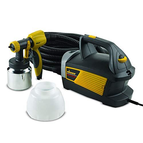 "Wagner Spraytech 0518080 Control Spray Max Corded Hvlp Paint Sprayer, 120 Vac, 5 A, 510 W, 80 Cfm, 2.7 Psi 19"" L x 12"" D x 12"" H/20'/1.5 quart Multicolor"