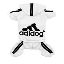 Scheppend-Original-Adidog-Pet-Clothes-for-Dog-Cat-Puppy-Hoodies-Coat-Doggie-Winter-Sweatshirt-Warm-Sweater-Dog-Outfits-White-Small