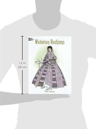 Victorian Fashions Coloring Book (Dover Fashion Coloring Book) · Po ...