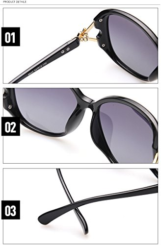 46fbf13ce0 Brand Vintage Fox Diamond Oversized Square Sunglasses Womens Ladies ...