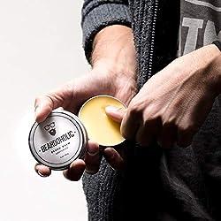 BEARDOHOLIC Beard Balm - Sweet Orange, 100% Organic with Extra Hold for Styling and Shaping Your Beard with Ease, Eliminates Itch and Dandruff  Image 3