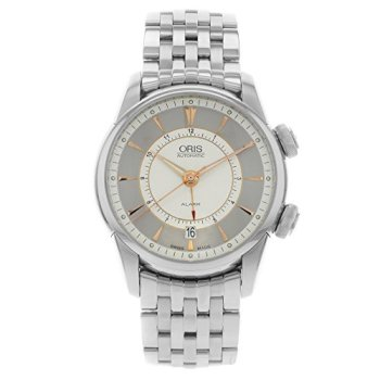 Oris Artelier Alarm 01 908 7607 4051-Set-MB Stainless Steel Automatic Men's Watch