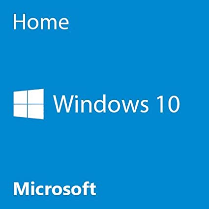 Microsoft OEM Windows 10 Home, 64-Bit, 1-Pack, DVD