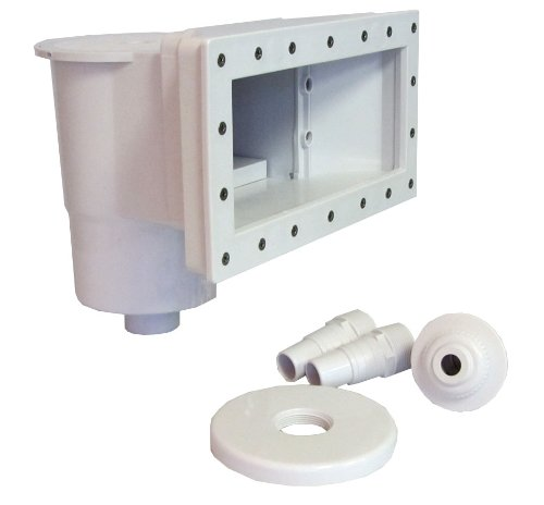 SUNSOLAR ENERGY WideMouth Skimmer Kit for Above-Ground Swimming Pool - Complete Thru-Wall Wide Mouth Size Kit