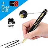 Hidden Camera Pen Recorder 1080P HD for Surveillance Meeting, Mini Camera Video and Photo Recorder 32GB SD Card Included