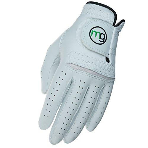MG Golf Glove Mens Left (RH Golfer) DynaGrip Elite All-Cabretta Leather (Medium Regular Size)