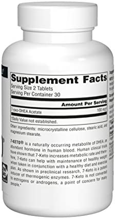 Source Naturals 7-Keto 50mg DHEA Metabolite - 60 Tablets 4