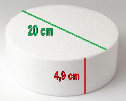 2 Basi per Torta Rotonda 20cm
