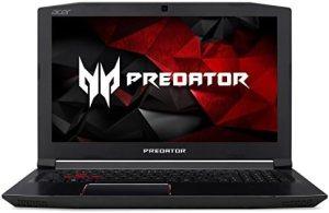 Acer Predator Helios 300 Gaming Laptop, 15.6″ Full HD IPS, Intel i7 CPU, 16GB DDR4 RAM, 256GB SSD, GeForce GTX 1060-6GB, VR Ready, Red Backlit KB, Metal Chassis, Windows 10 64-bit, G3-571-77QK