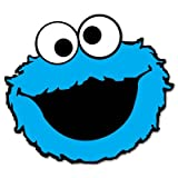Cookie Monster Sesame Street Vynil Car Sticker Decal - Select Size
