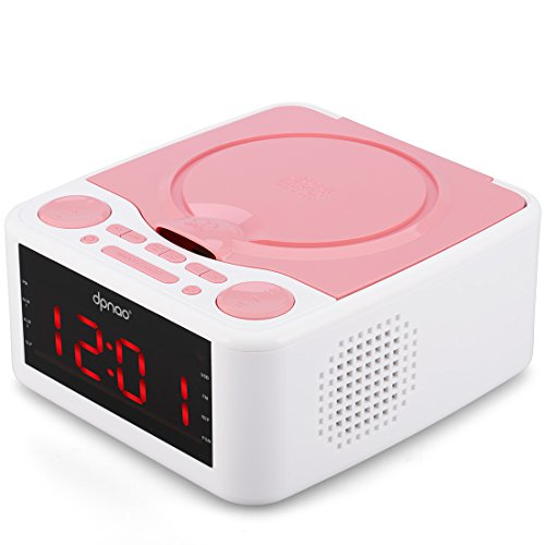 Alarm Clock Radio, CD Player, with USB Port,...