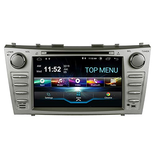 SWTNVIN-Camry-Car-Stereo-for-2007-2008-2009-2010-2011Android-100-Double-Din-in-Dash-8-Inch-Touch-Screen-Multimedia-Receiver-with-Bluetooth-GPS-Navigation-Radio-Audio-DVD-Player-TPMS-SWC