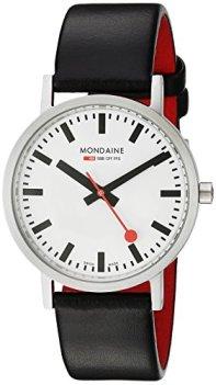 Mondaine Men's A660.30314.16SBB Quartz Classic Leather Band Watch