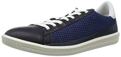 41vI8LBIXKL Color-blocked sneaker in low-profile design featuring mesh insets at sides and textured midsole Removable sockliner