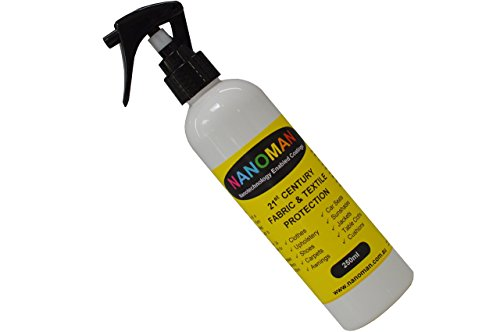 Shoe Protector Spray - Water Repellent/Waterproof for Suede, Leather, Canvas, Nubuck & Fabric Boots. Latest Hydrophobic Nano-Tech Formula. Eco-friendly. Fluoropolymers, Alcohol & Silicone Free