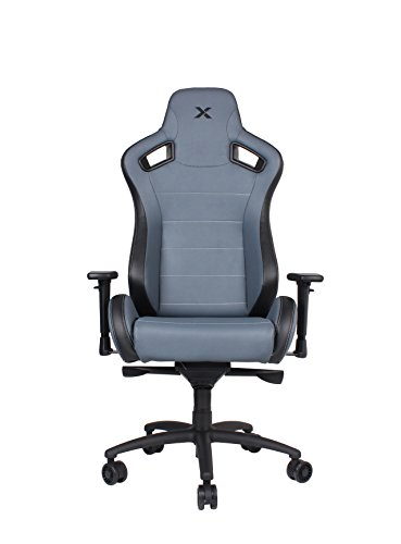 Carbon Line Charcoal Grey Sleek Design Gaming & Lifestyle Chair by RapidX