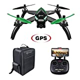 Contixo F20 RC Remote App Controlled Quadcopter Drone | 1080p HD WiFi Camera, Follow Me, Auto Hover, Altitude Hold, GPS, 1-Key Takeoff/Landing Auto Return Includes Storage Backpack- Memorial Day Sale