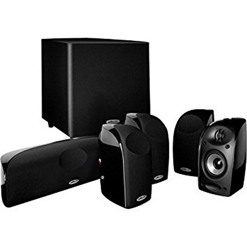 Polk Audio TL1600 5.1 Compact Home Theater System with Powered Subwoofer