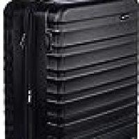 AmazonBasics Hardside Spinner Travel Luggage Suitcase - 30 Inch, Black