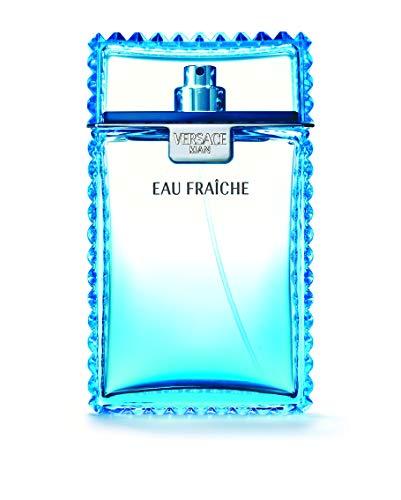 Man Eau Fraiche Eau De Toilette Spray Men by Versace, 6.7 Fl. Oz
