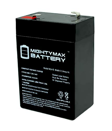 Mighty Max Battery 6V 4.5AH Battery for Kid Trax Disney Ride On Toy KT1123TR Brand Product