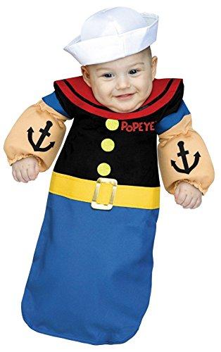 Popeye Baby Bunting Costume