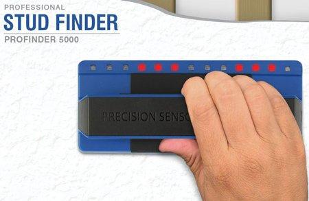 Precision Sensors Stud Finder Professional Deep Scanning LED Profinder 5000