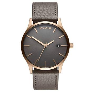MVMT Classic Watches | 45 MM Men's Analog Minimalist Watch | Bronze Age
