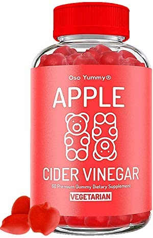 (2X Power) Organic Apple Cider Vinegar Gummies | Raw Apple Cider Vinegar with The Mother, Unfiltered AVC Gummies| Digestion, Immune Boost, Bloating Relief for Women | Pure Apple Vinegar Gummy Vitamins 1