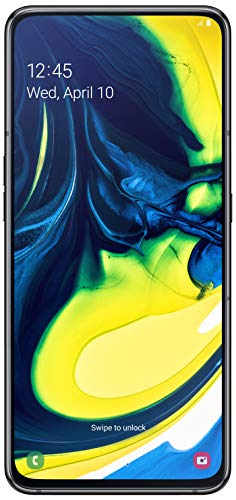Samsung Galaxy A80 (Phantom Black, 8GB RAM, 128GB Storage) 55