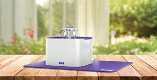 Ruff-n-Ruffus-Cat-Drinking-Water-Fountain-with-Free-Filter-Free-Silicone-Mat-Automatic-Watering-Dispenser-with-3-Flow-Settings-Durable-Pump-Easy-Cleaning-2-Liter-Pet-Self-Waterer-for-Cats