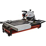"Lackmond Beast Wet Tile Saw - 10"" Portable Jobsite Cutting Tool with 15 AMP Motor & Up to 1-7/8"" Depth of cut at 45°  - BEAST10"